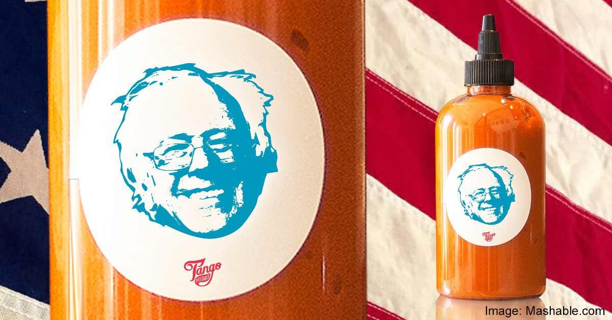 Now You Can 'Feel The Bern' On Your Food