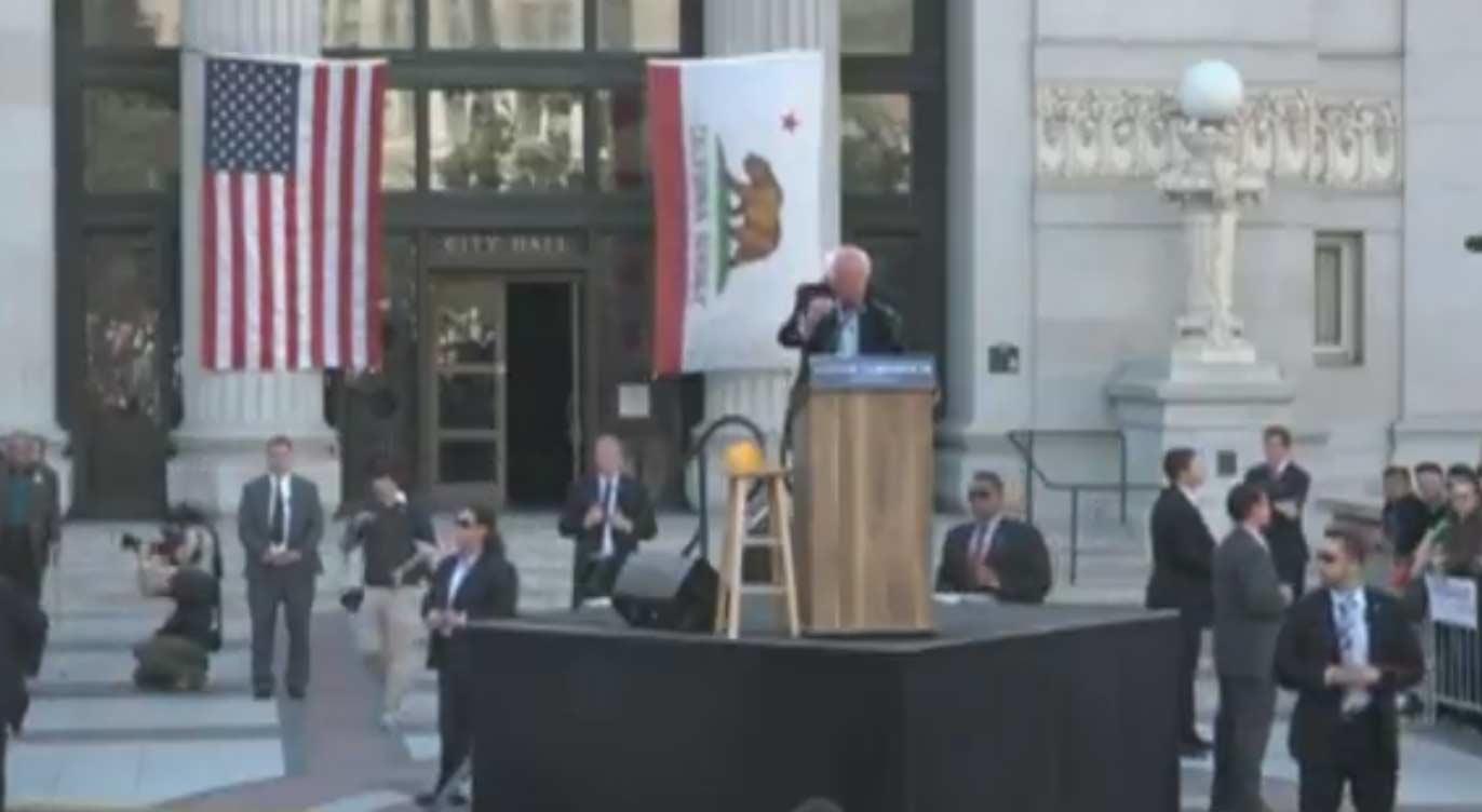 Watch Replay: Bernie Sanders Oakland, California Rally At Frank H. Ogawa Plaza, May 30