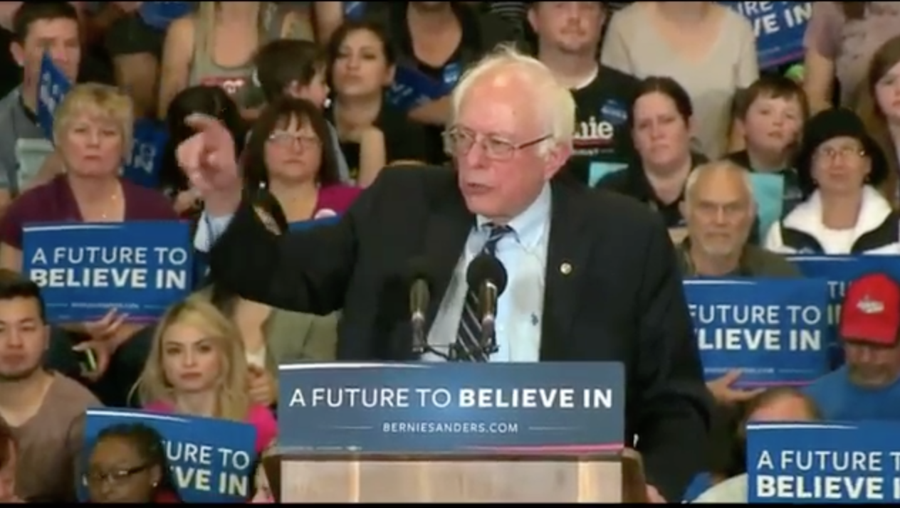 LIVE STREAM: Bernie Sanders Rally At Atlanta University Center