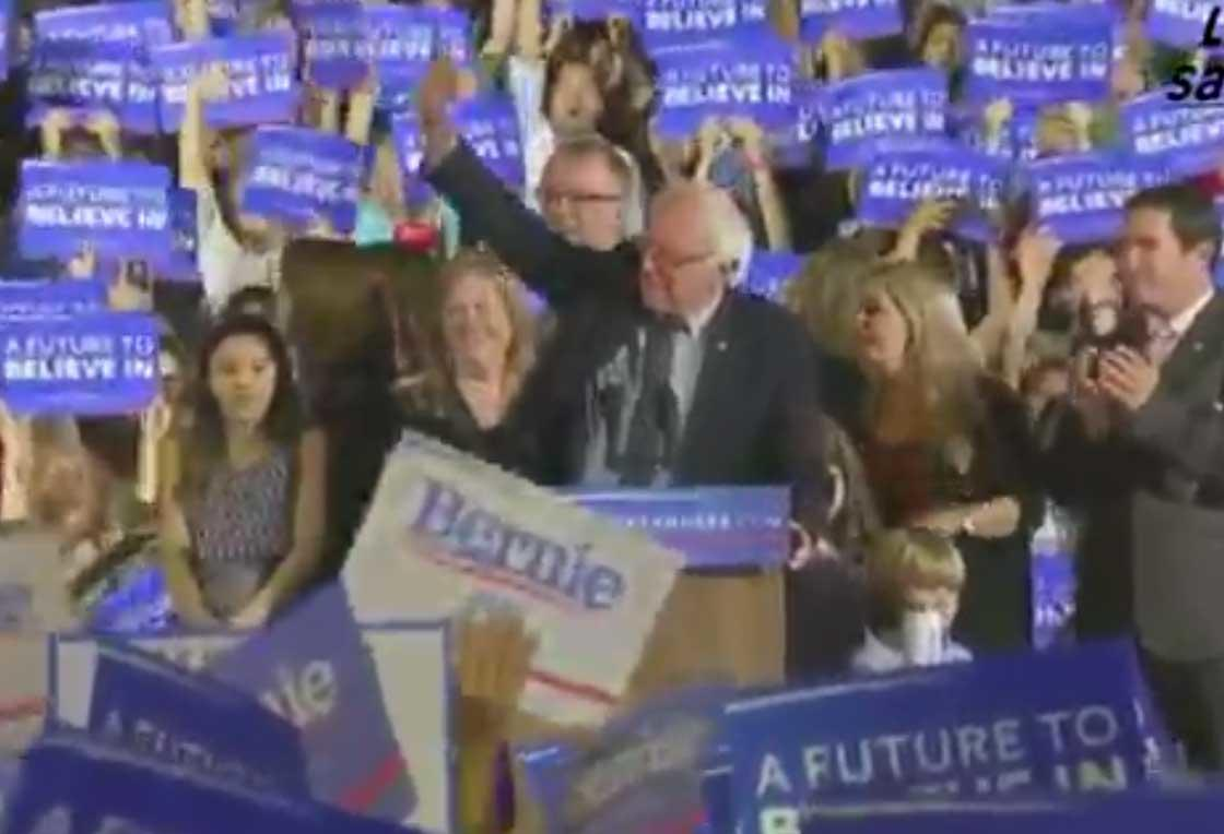 Watch Replay: Bernie Sanders Speaks, Refusing To Quit Despite Losing California, New Jersey, New Mexico Primaries