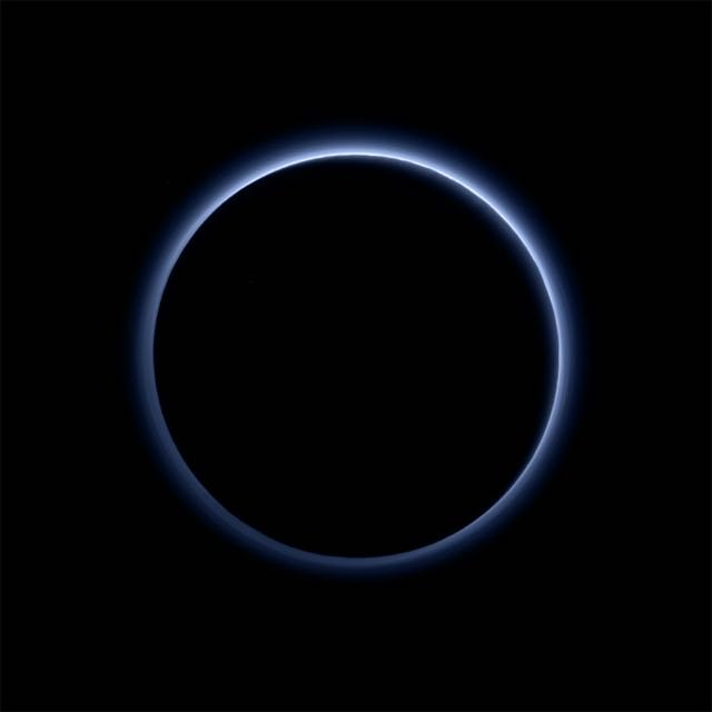 NASA Reveals 'Blue Skies & Water Ice' on Pluto