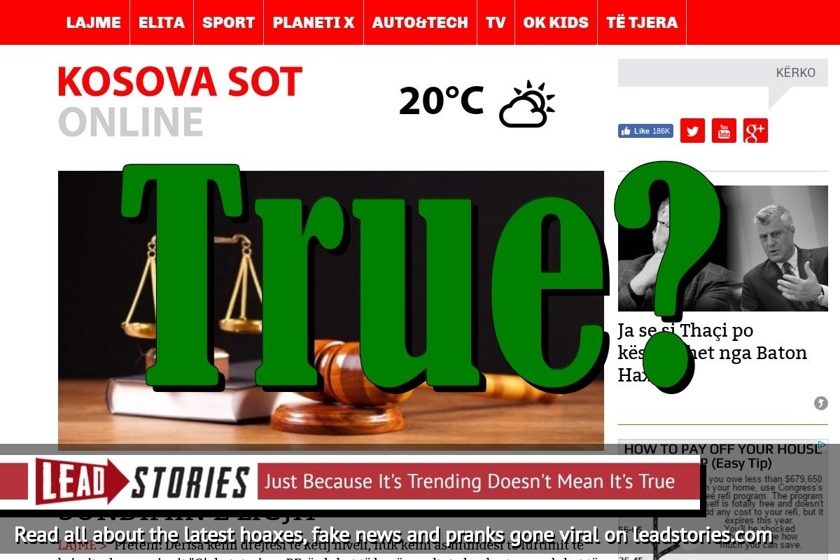 Screenshot of http://www.kosova-sot.info/