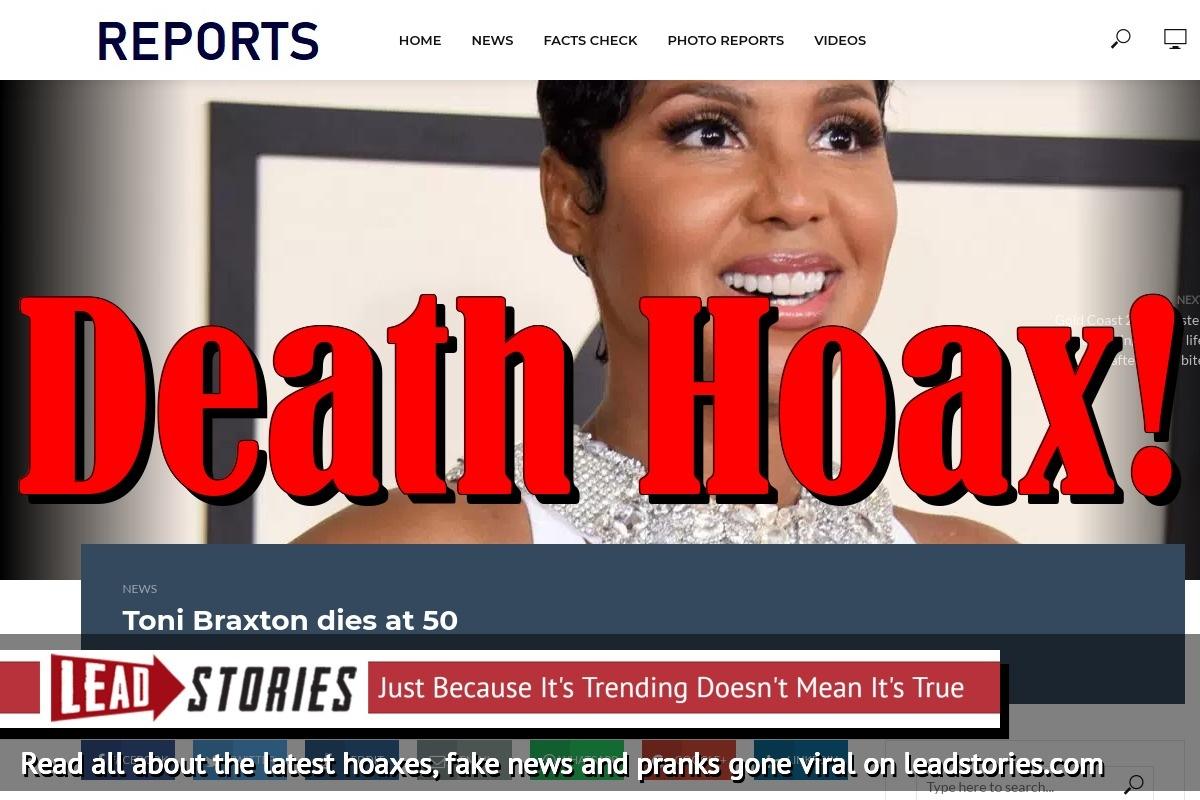 Screenshot of http://breaking-cnn.com/toni-braxton-dies-50/