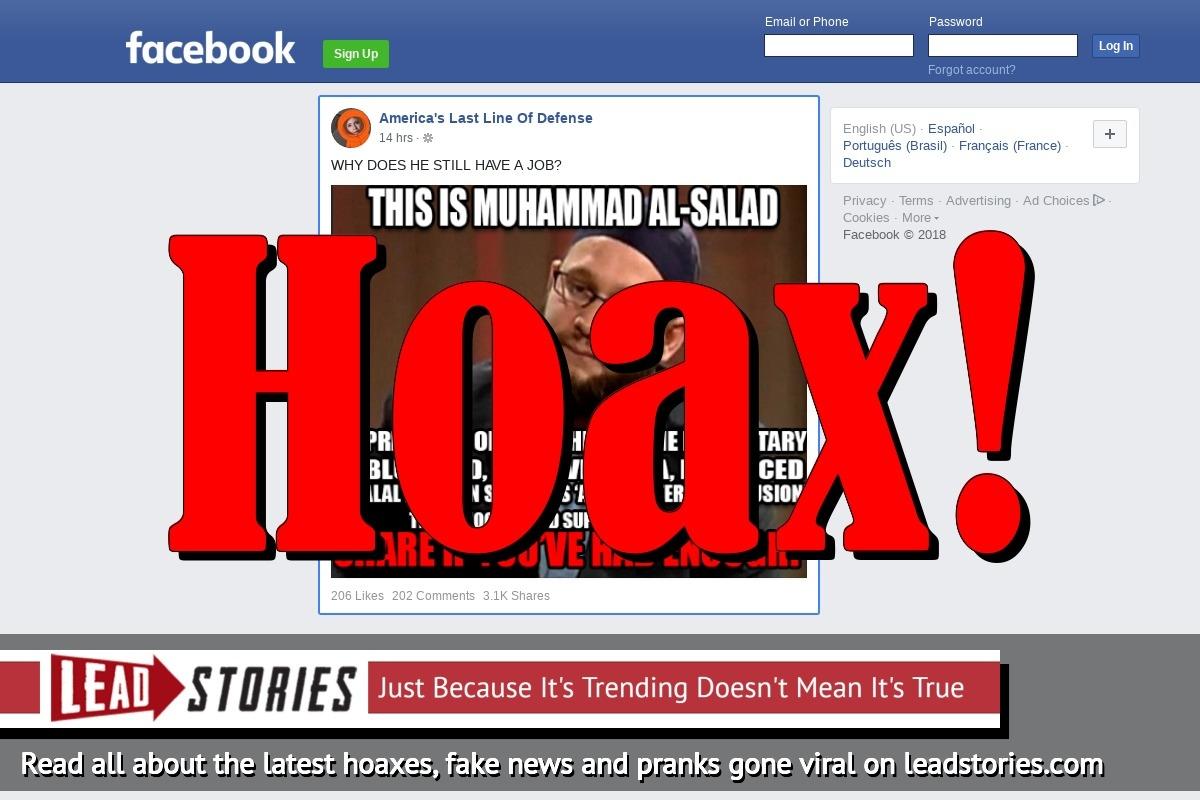 Screenshot of https://www.facebook.com/thelastlineofdefense/posts/2050438475215582