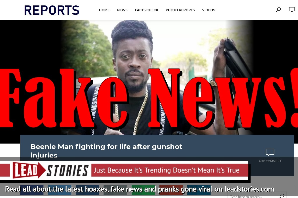 Screenshot of http://breaking-cnn.com/beenie-man-fighting-life-gunshot-injuries/