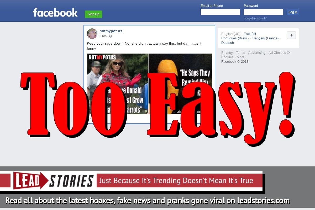 Screenshot of https://www.facebook.com/hesnotmypotus/posts/365682603838314