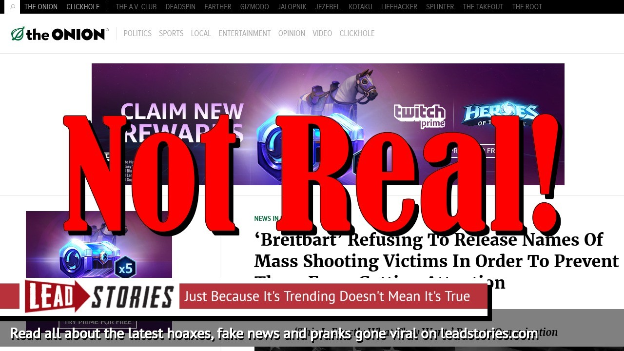 Screenshot of https://www.theonion.com/breitbart-refusing-to-release-names-of-mass-shooting-1826201255