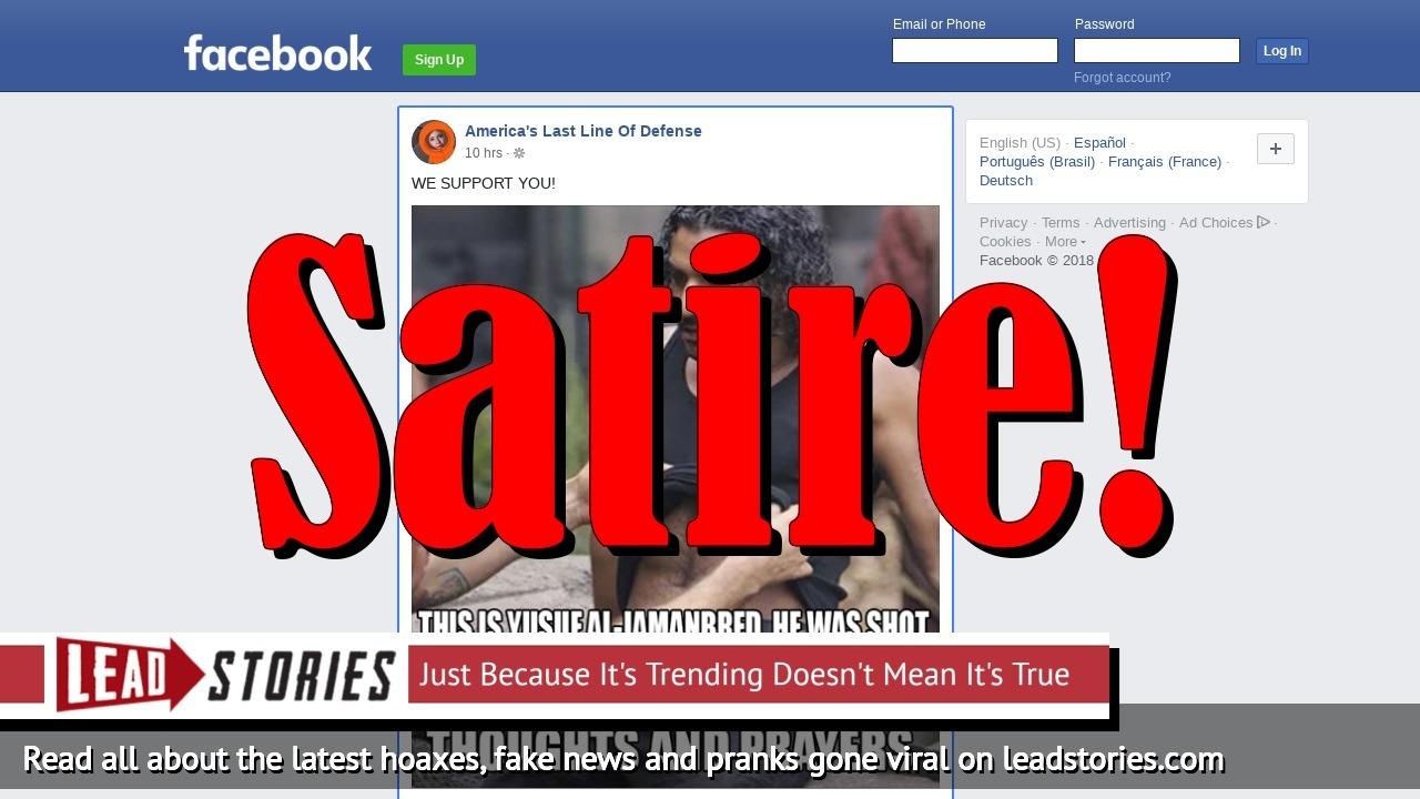 Screenshot of https://www.facebook.com/thelastlineofdefense/posts/2074517829474313