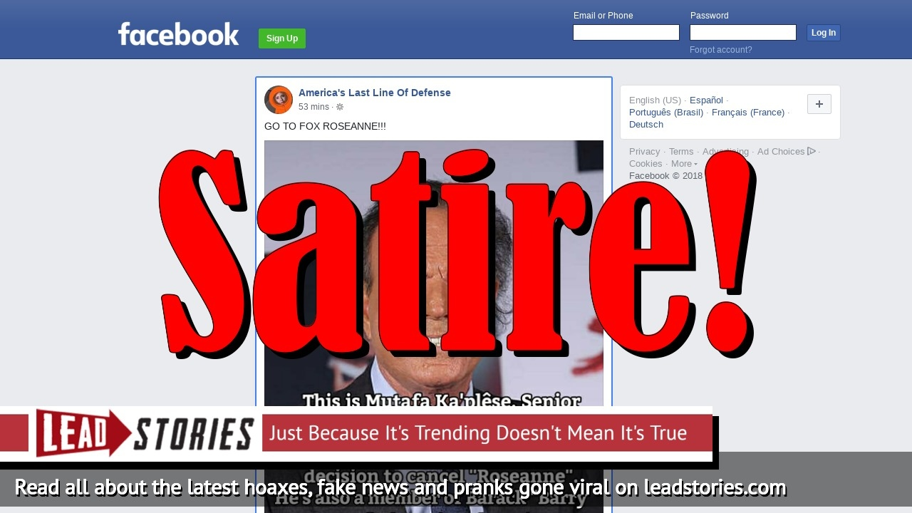 Screenshot of https://www.facebook.com/thelastlineofdefense/posts/2076235229302573