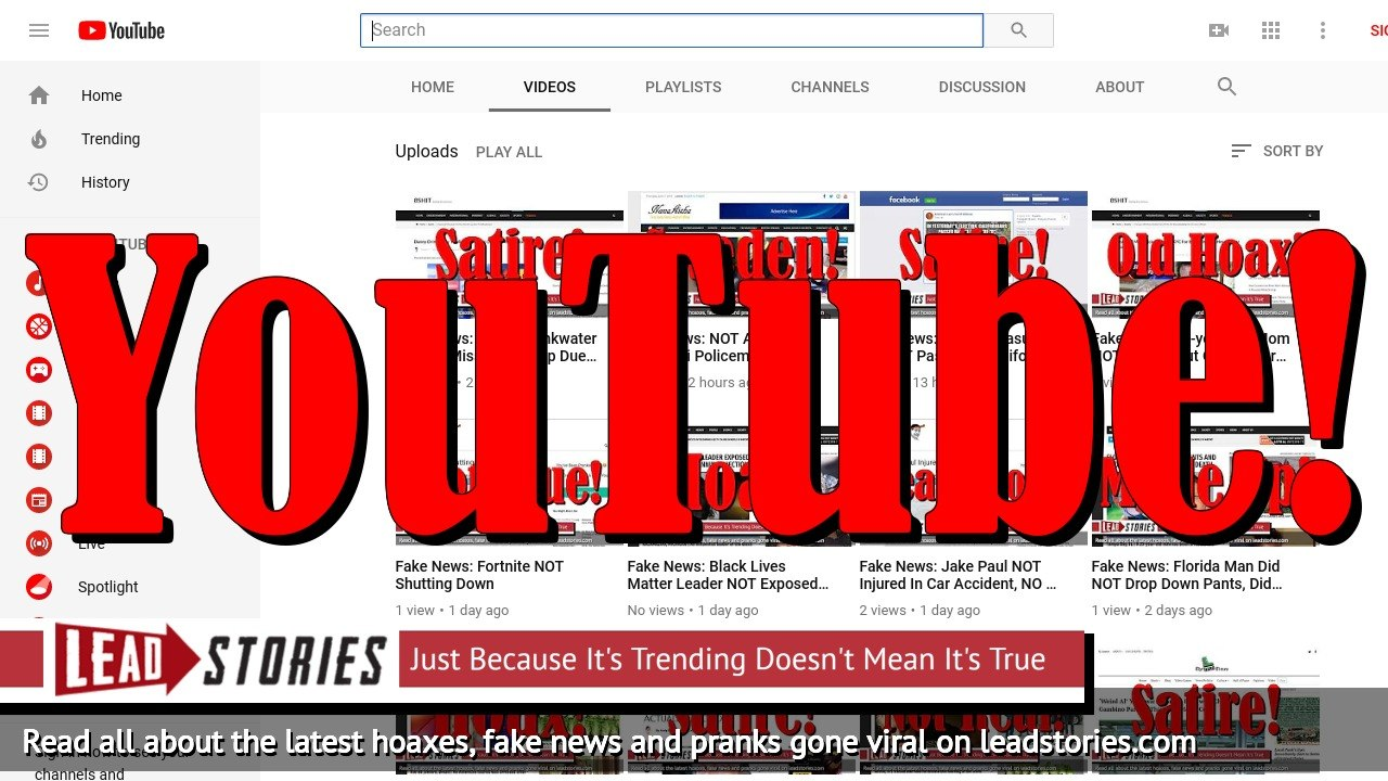 Lead Stories Launches YouTube Channel With Automatically Generated Videos Of All Fact Checks