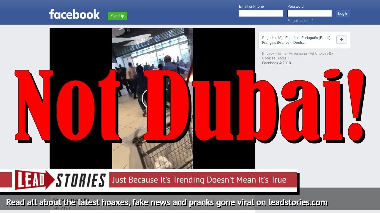 Fake News: Video Does NOT Show Man Burning After Phone Connected To Power Bank Explodes, NOT In Dubai Mall