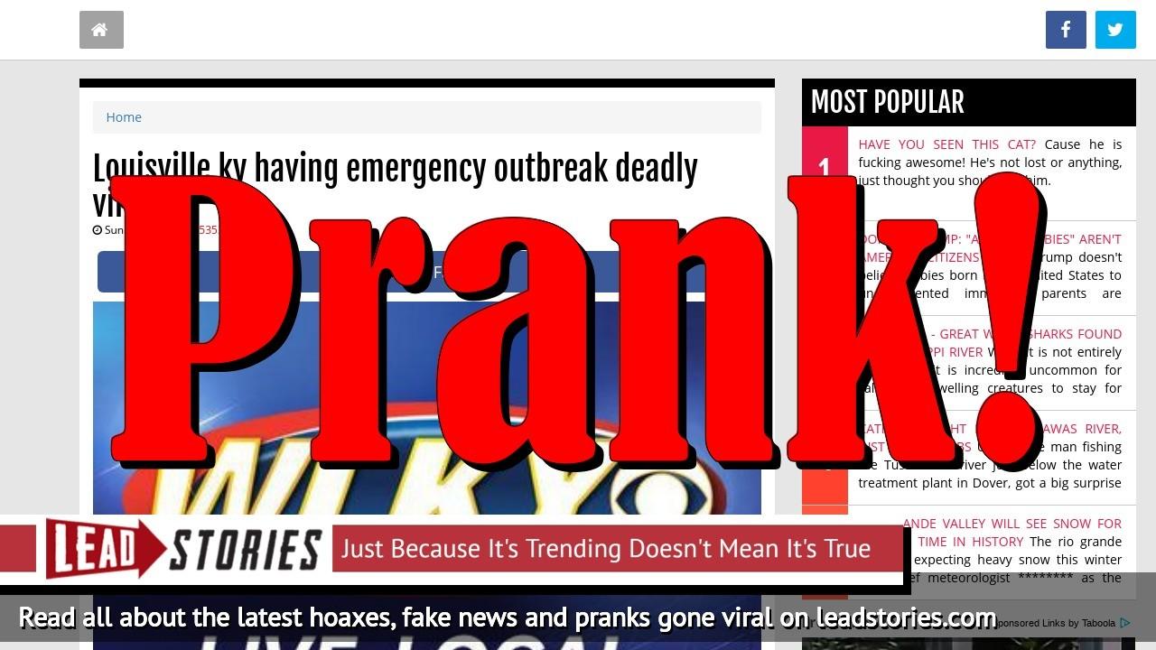 Screenshot of http://www.react365.com/5b4172e9d29f6/louisville-ky-having-emergency-outbreak-deadly-virus.html