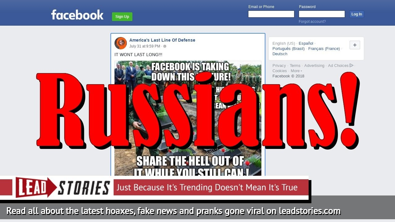 Fake News: Facebook Is NOT Taking Down Picture Of Korean War Dead To Hide Trump's Feat Of Bringing Them Back