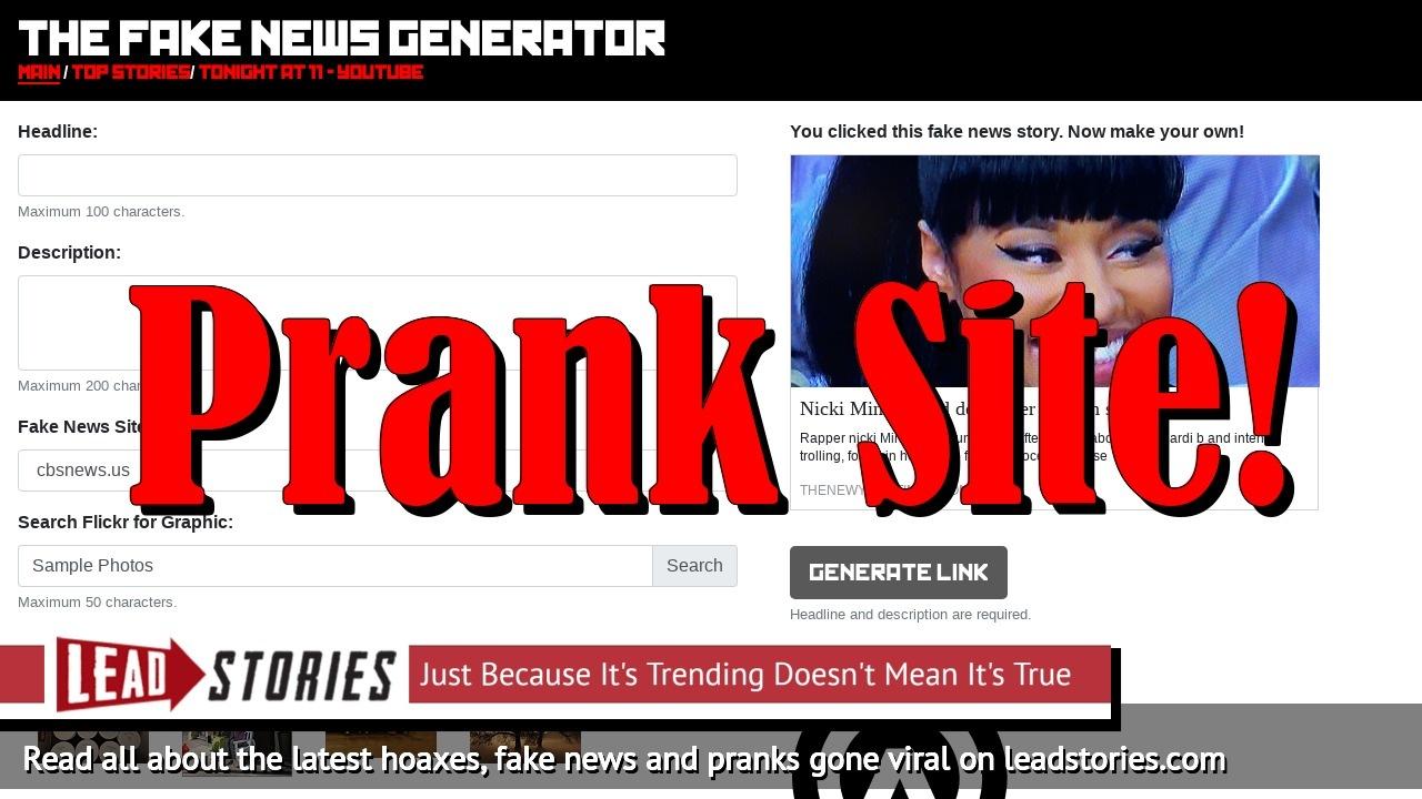 Fake News: Nicki Minaj NOT Found Dead After Fashion Show Fight
