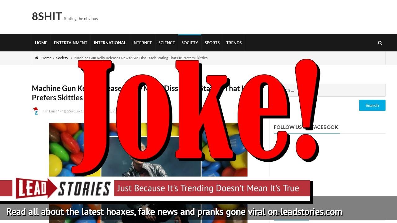 Screenshot of https://www.8shit.net/machine-gun-kelly-releases-new-mm-diss-track-stating-that-he-prefers-skittles/
