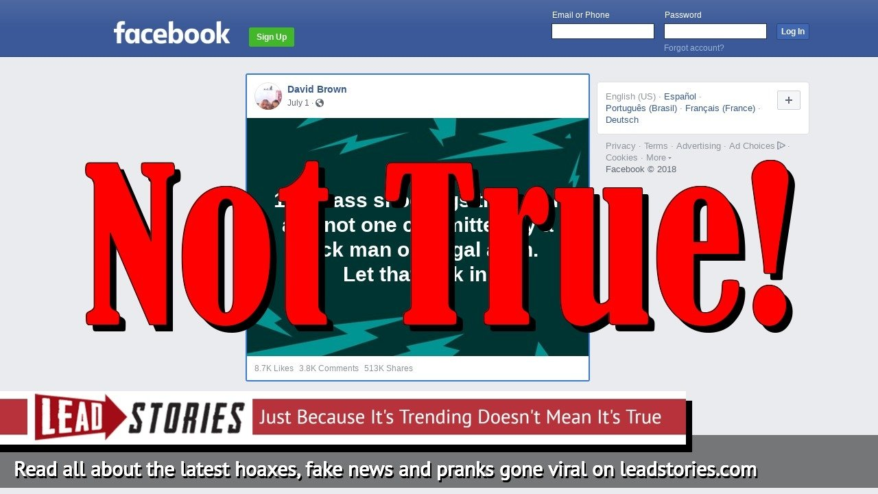 Screenshot of https://www.facebook.com/dbrown1960/posts/1861260537253726