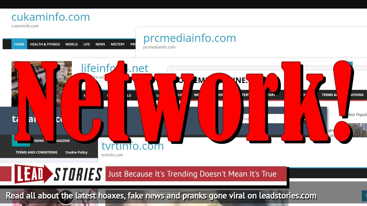 Old Network of Anti-Islam Fake News Websites Turns To Twitter Trolling
