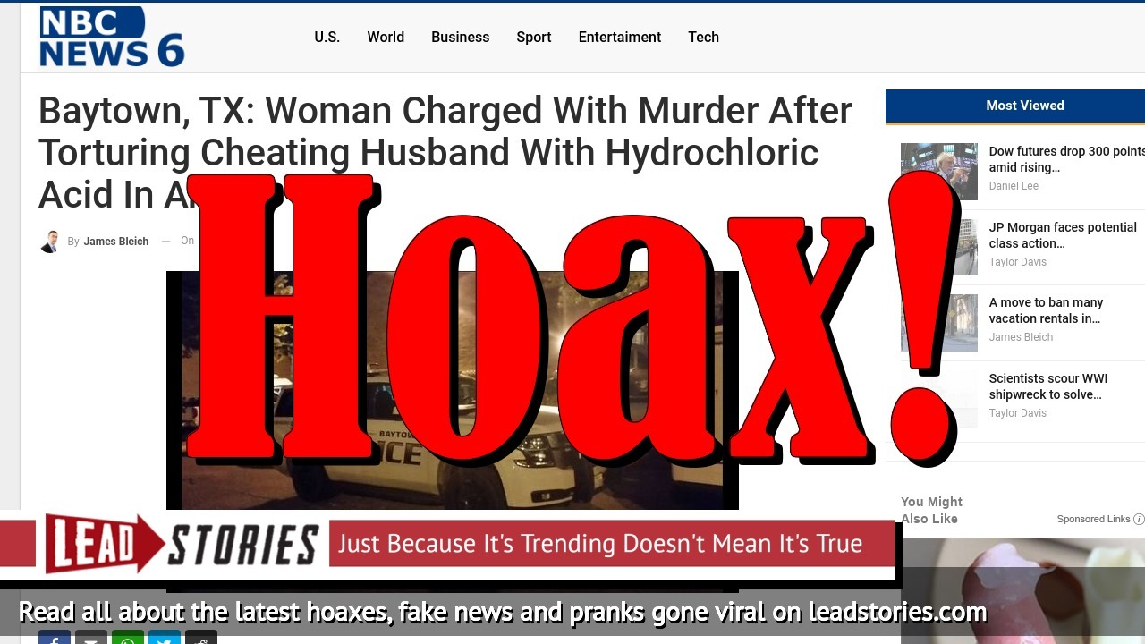 Screenshot of http://www.nbcnews6.com/baytown-tx-woman-charged-with-murder-after-torturing-cheating-husband-with-hydrochloric-acid-in-anus/