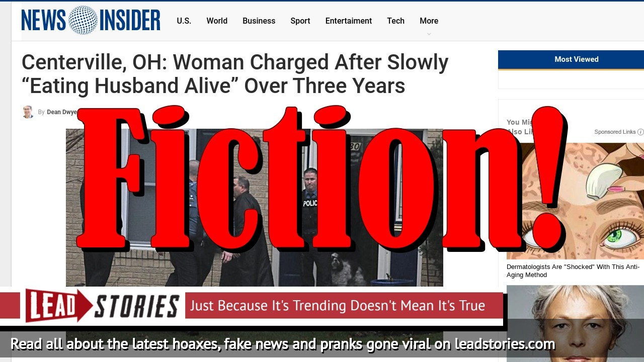 Screenshot of http://www.newsinsider-us.com/centerville-oh-woman-charged-after-slowly-eating-husband-alive-over-three-years/