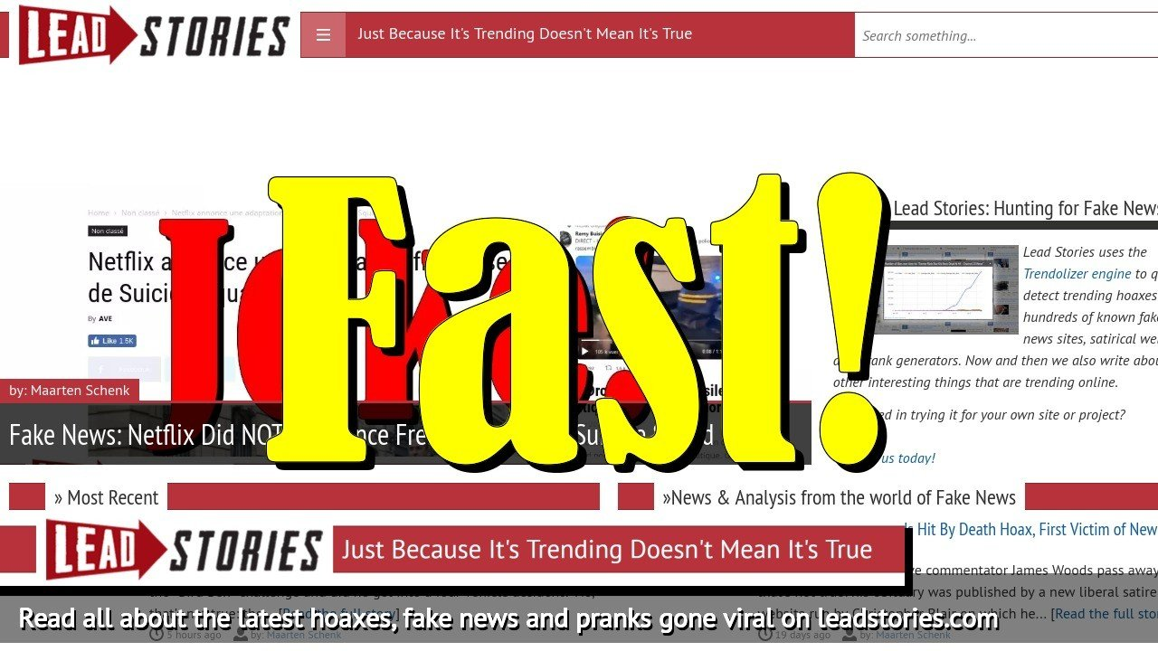 Lead Stories Fastest At Debunking 2018 Top Hoaxes Identified By BuzzFeed News