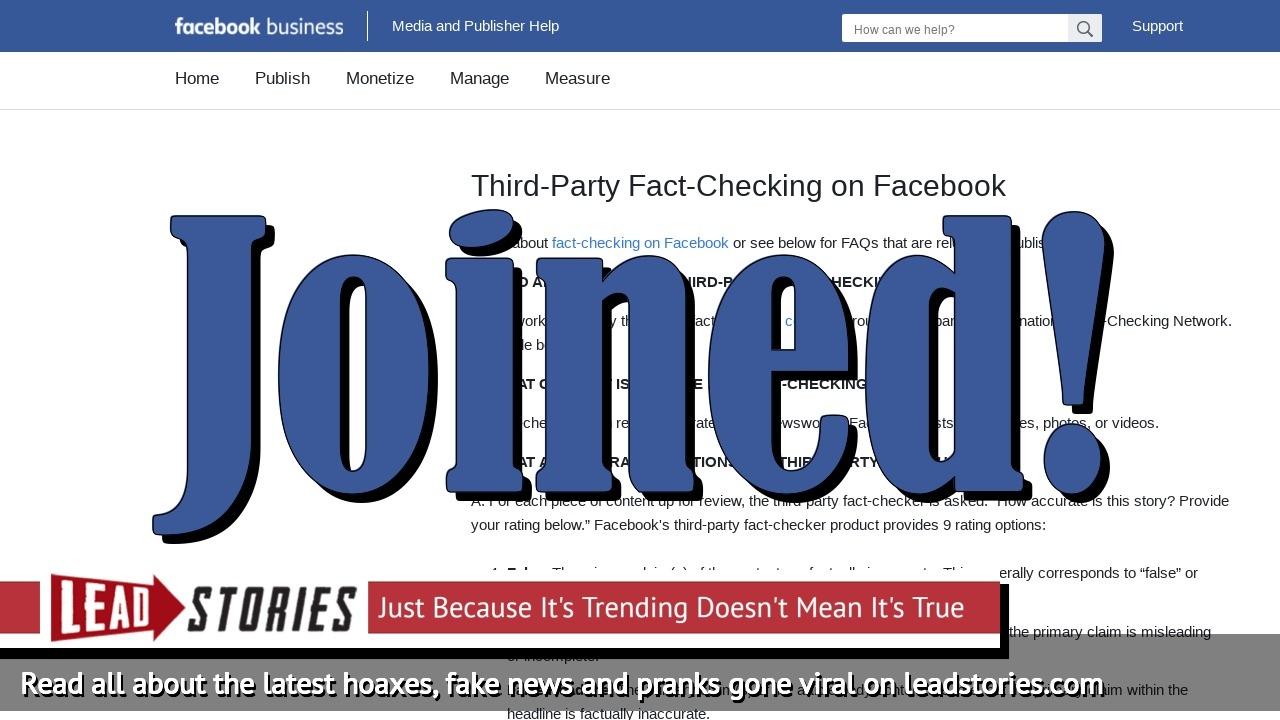 Screenshot of https://www.facebook.com/help/publisher/182222309230722