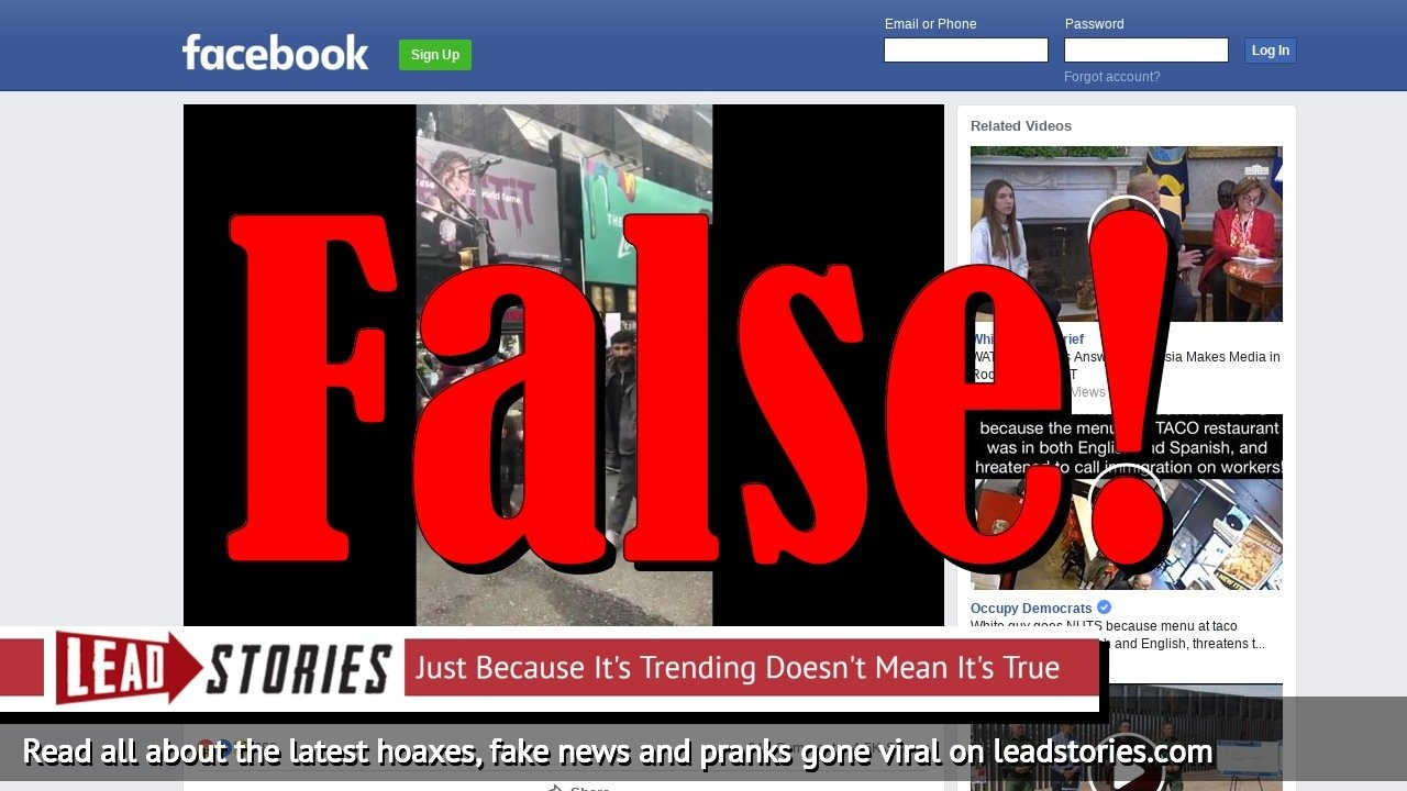 Fake News: Muslims Did NOT Rally In New York City Demanding Their Sharia Rights!