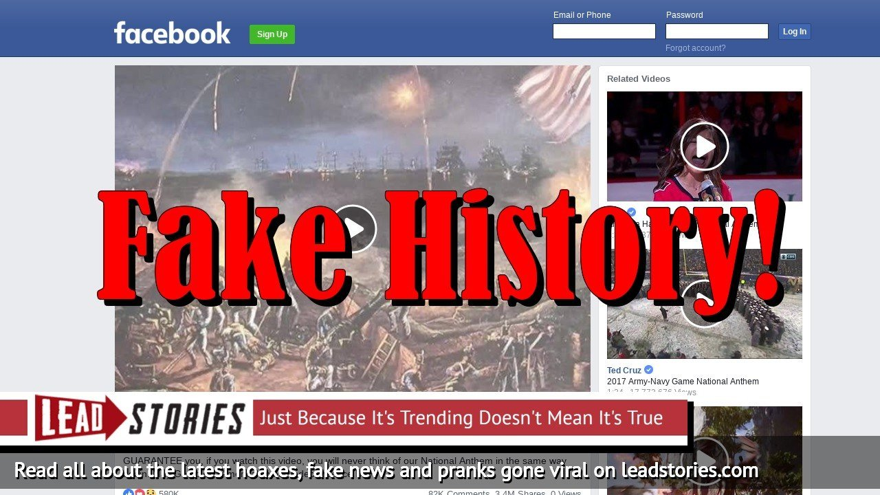 "Fake History: ""Our National Anthem"" Video By Robert Surgernor Is NOT The True Story Of ""The Star Spangled Banner"""