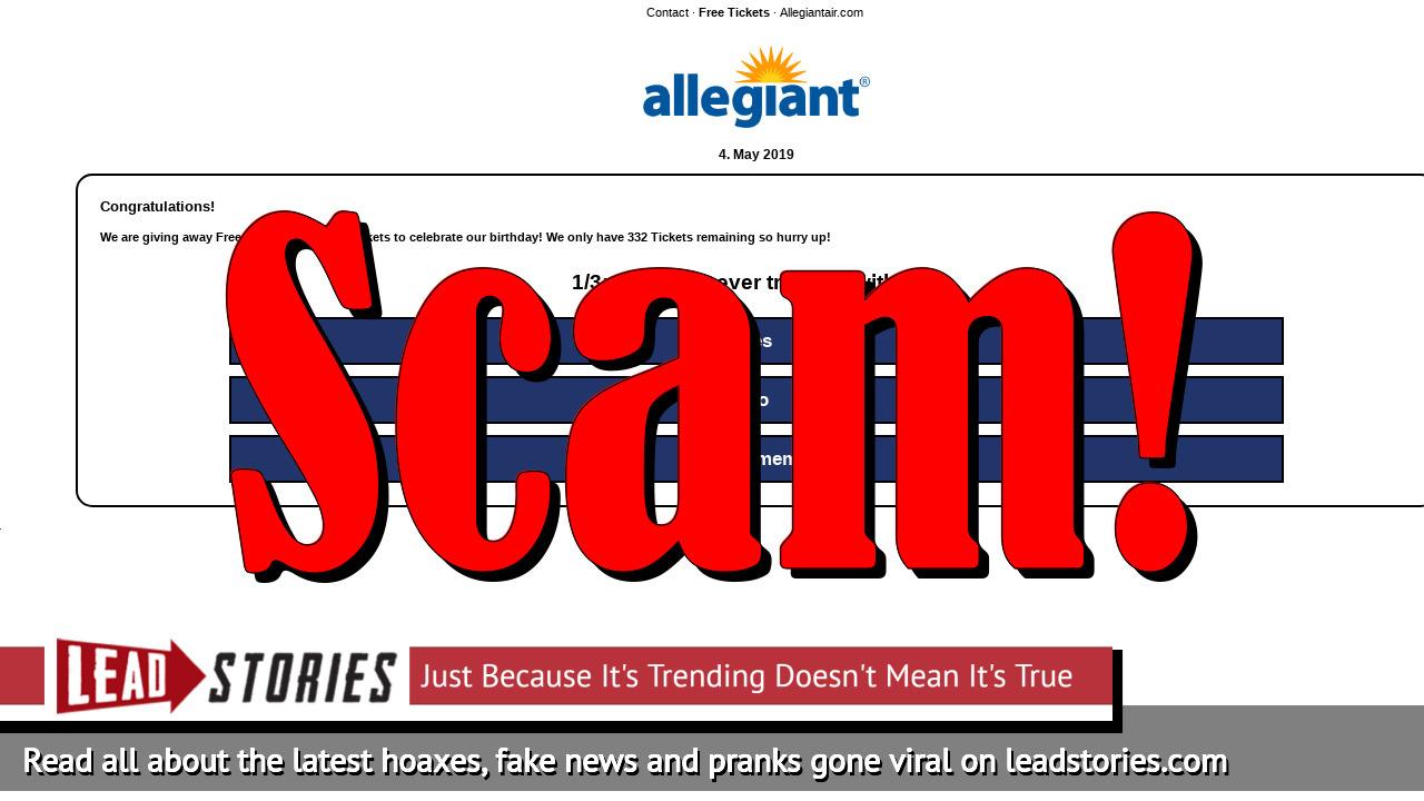 Screenshot of http://www.allegiantair.com-getme.com/?ySznggn