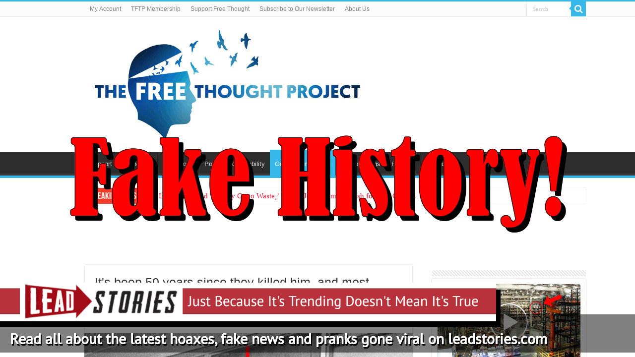 Screenshot of https://thefreethoughtproject.com/fbi-memphis-pd-assassination-mlk/?fbclid=IwAR27ZqbiRK6DvxuTOaYJ7FbPDjjyplGJwMaPbEH5i4XRpYyYYAZ6_2Lj4TE