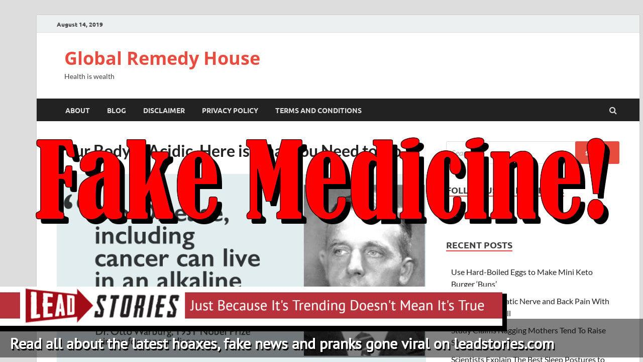 Screenshot of https://www.globalremedyhouse.com/acidic-body-solution/?fbclid=IwAR1-O1zMmQ_Mmxq8Nr2qijfiDfbwZ-LHbRkN7_lJuHrjvZ0zNtm6oDhxeX4