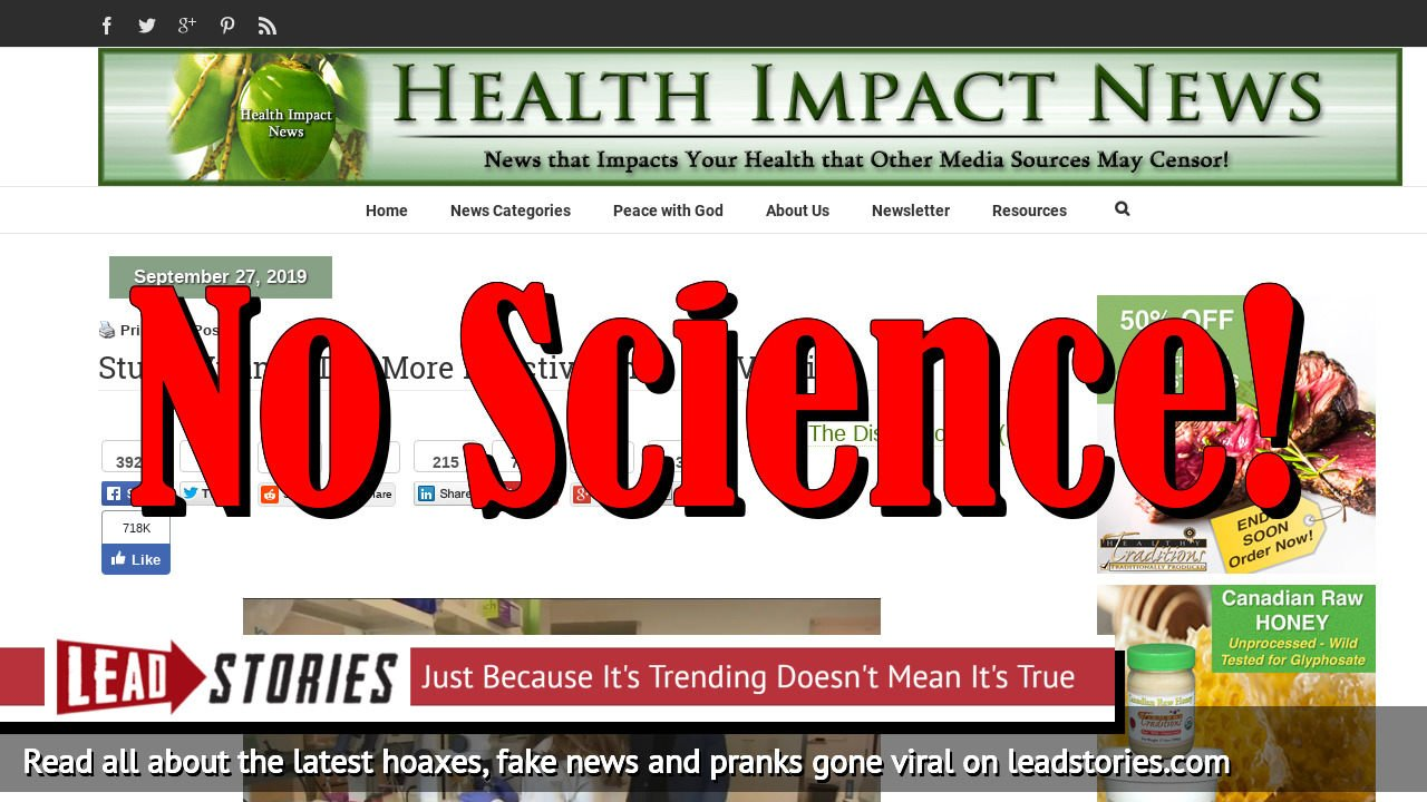 Fake News: No Study Says Vitamin D Is More Effective Than Flu Vaccine