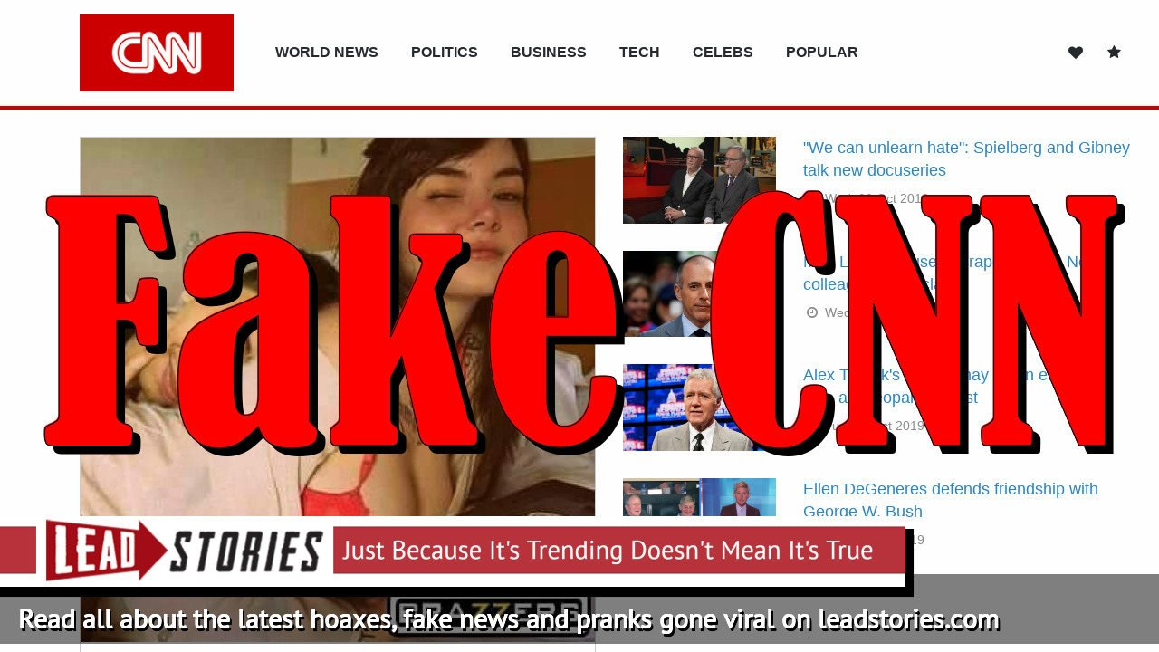 Fake News: CNN Did NOT Report Philip Andrei Gancia Became a Porn Star
