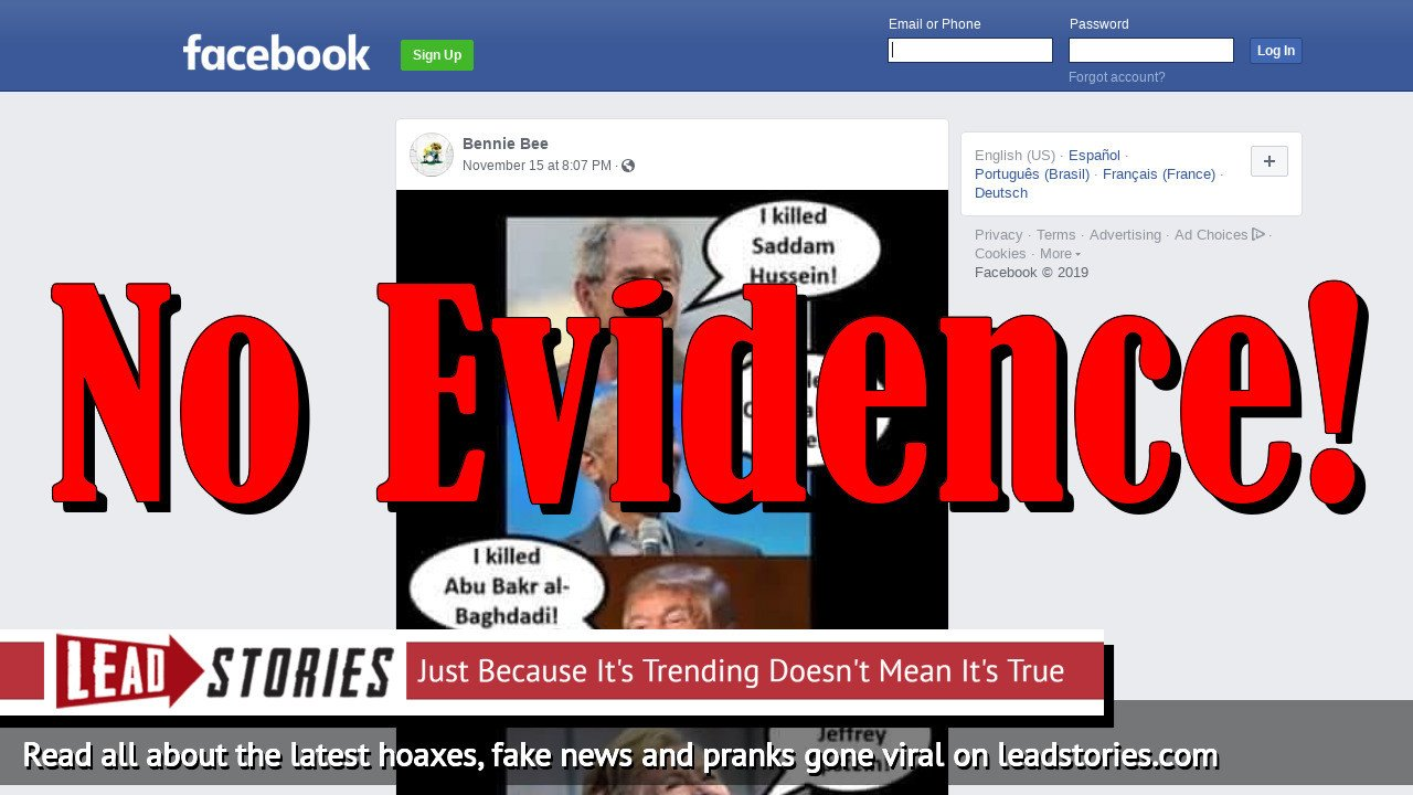 Fake News: No Evidence Hillary Clinton Killed Jeffrey Epstein And She Did Not Admit It