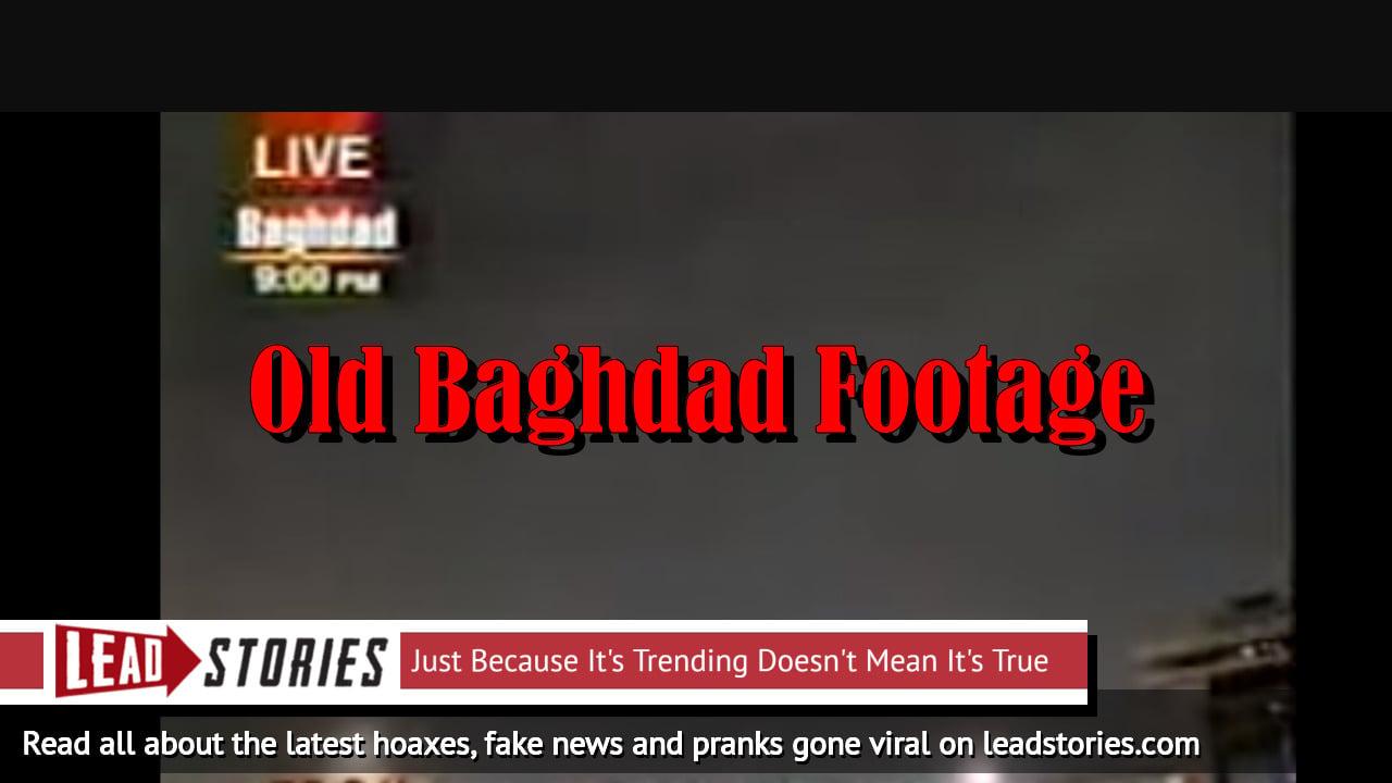 Fake News: NOT CNN Breaking News - Turkey Did NOT Attack Israel - NO Air Raid On Tel Aviv