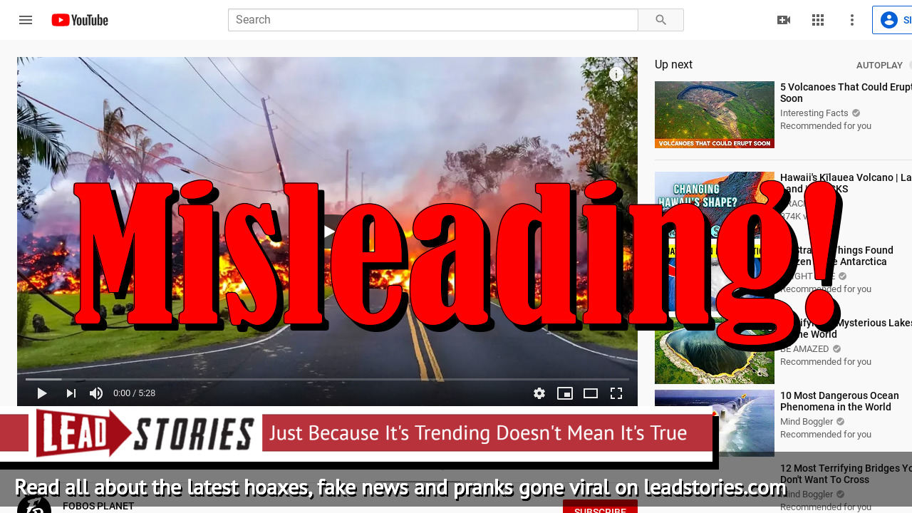 Fake News: Hawaii Update - Kilauea Volcano Did NOT Erupt Again in December 2019