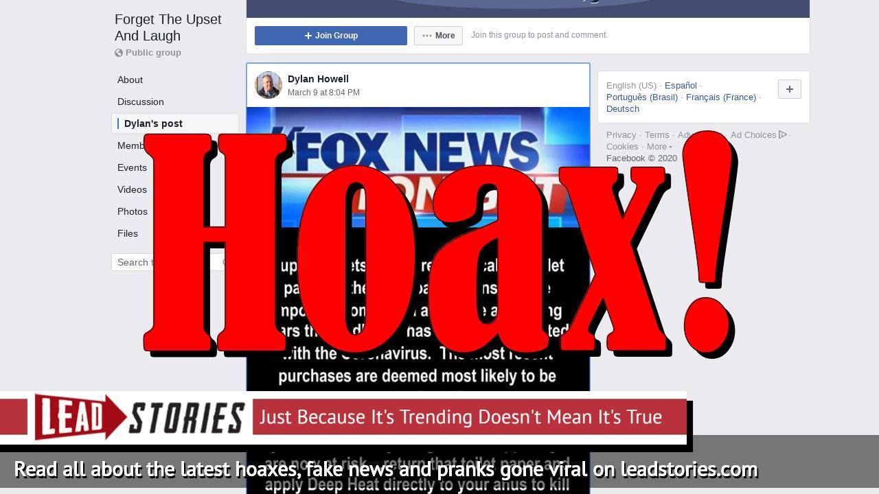 Screenshot of https://www.facebook.com/groups/ForgetTheUpsetAndLaugh/permalink/626225641261311/