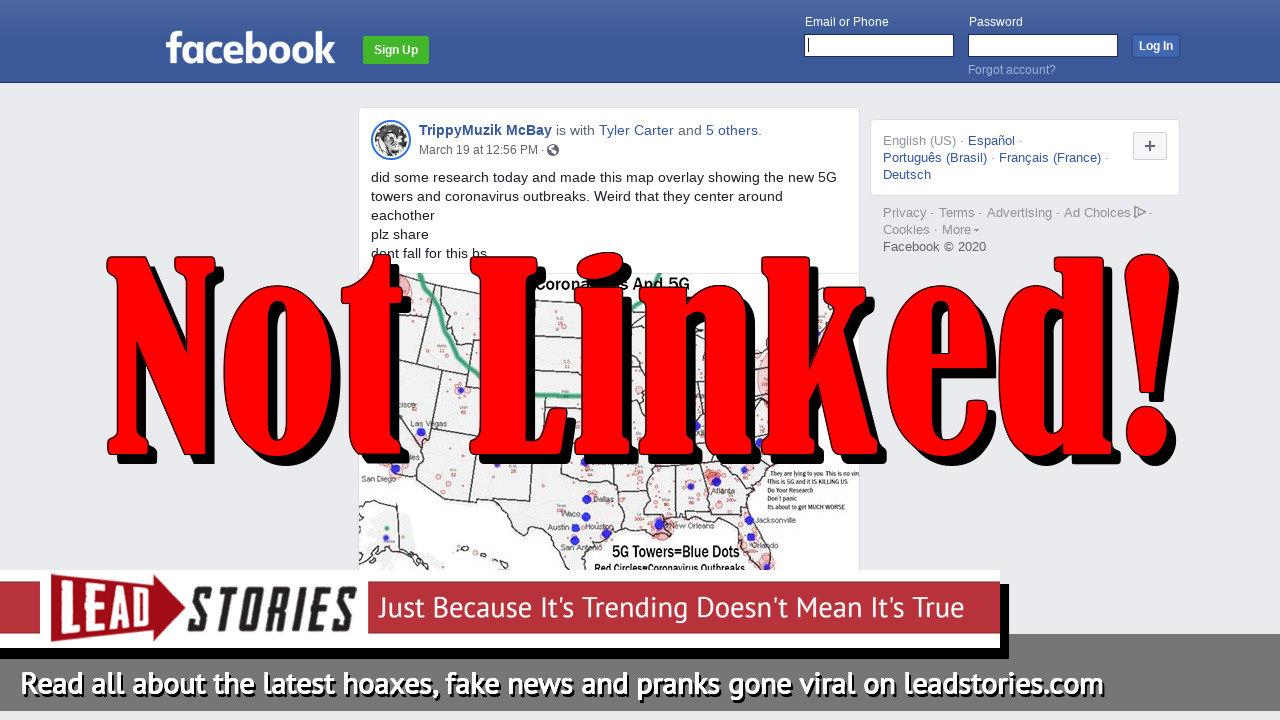 Screenshot of https://www.facebook.com/TrippyMuzikTV/posts/2657820554449886