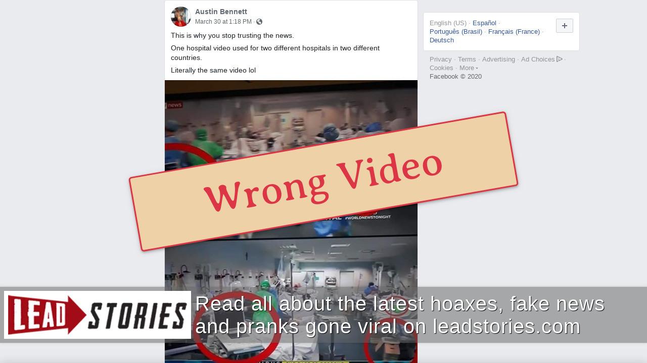 Screenshot of https://www.facebook.com/austin.t.bennett.39/posts/10157334580333683