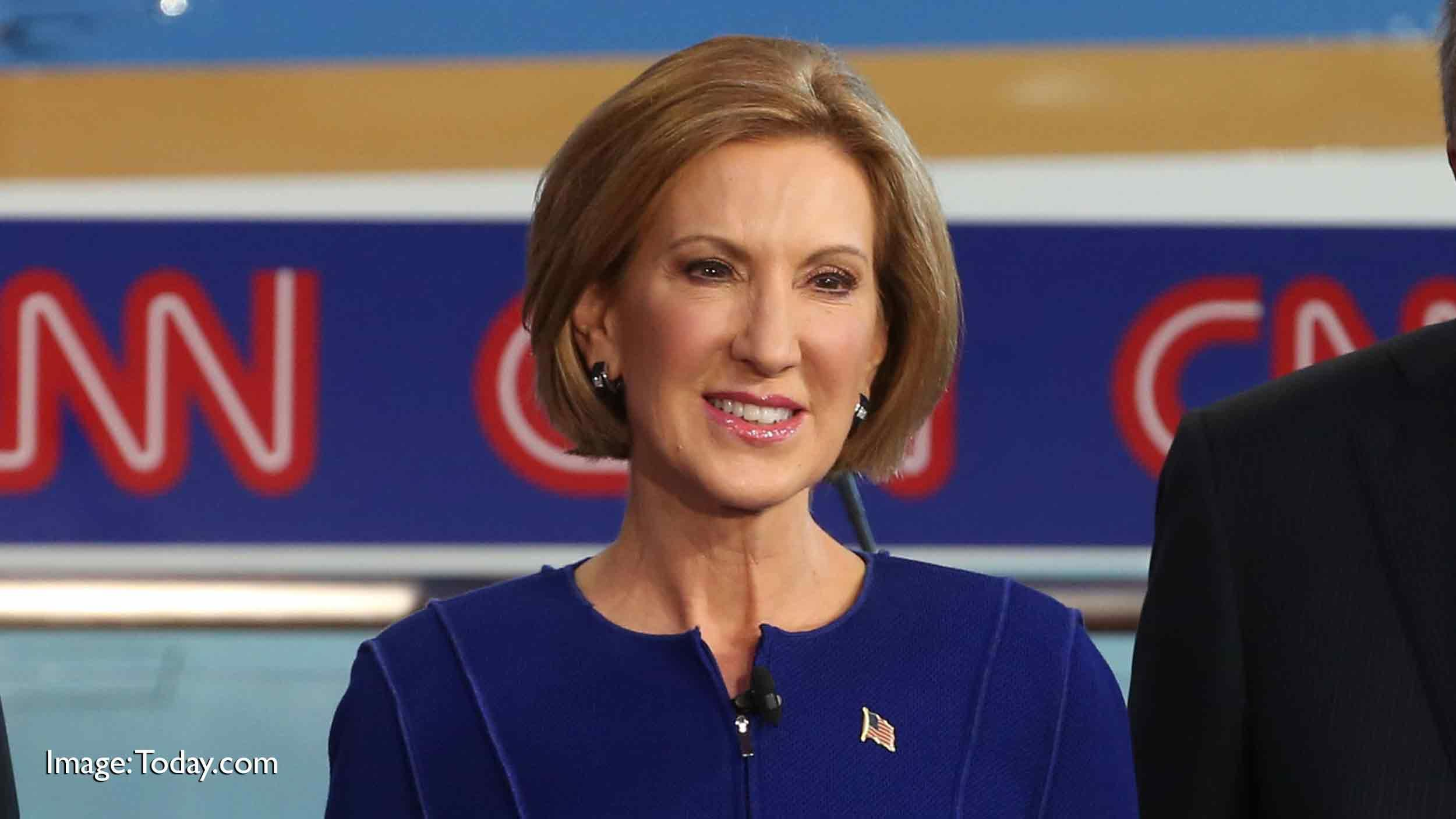 Politics: Carly Fiorina Drops Out Of Presidential Race