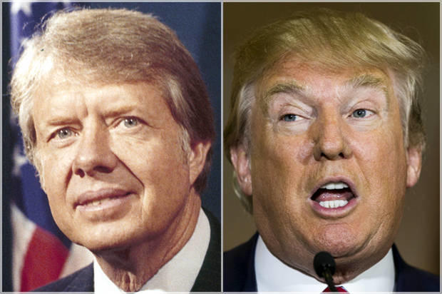 Politics: Jimmy Carter Says He Would Pick Trump over Ted Cruz