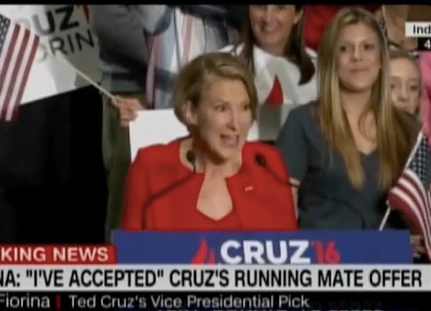 Carly Fiorina Sings About How Fun It Is Being Ted Cruz's Running Mate: 'We Get To Play!'