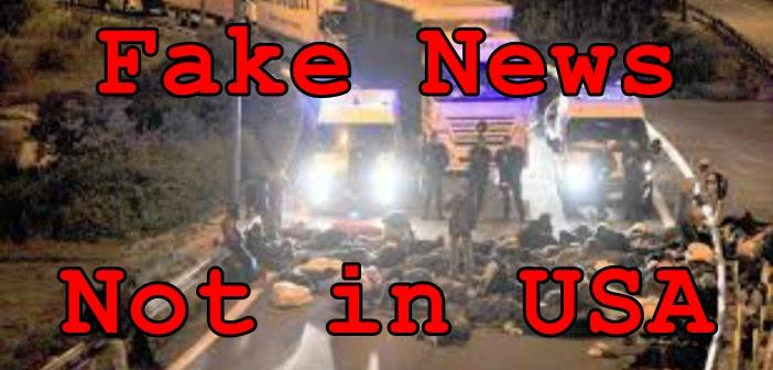 Fake News: Muslim Refugees Did NOT Block Transportation in Protest of Trump Presidency