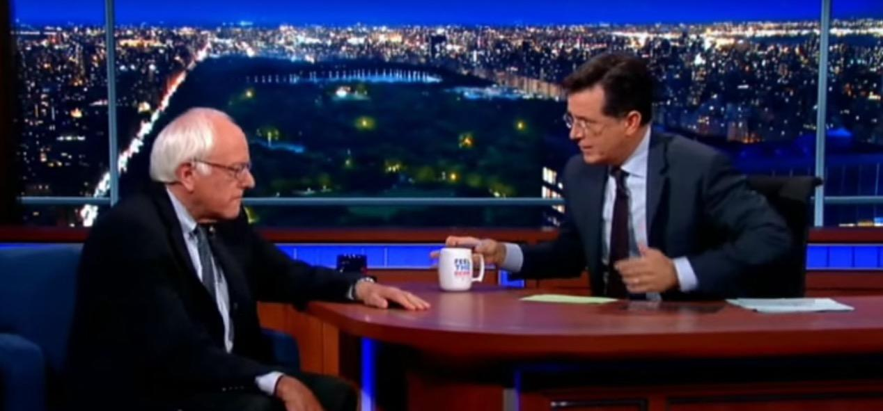 Bernie Sanders to Appear on Colbert's 'The Late Show'