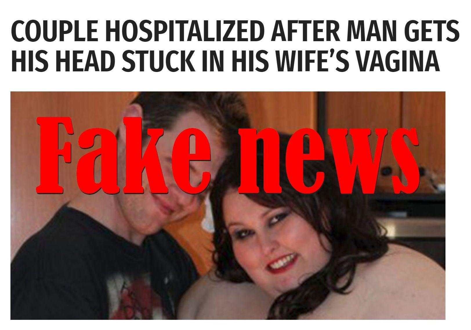 Fake News: Couple NOT Hospitalized After Man Gets His Head ...