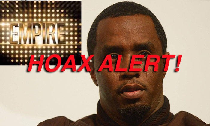 P Diddy DID NOT Sue Empire Show 'They Stole My Life Story'