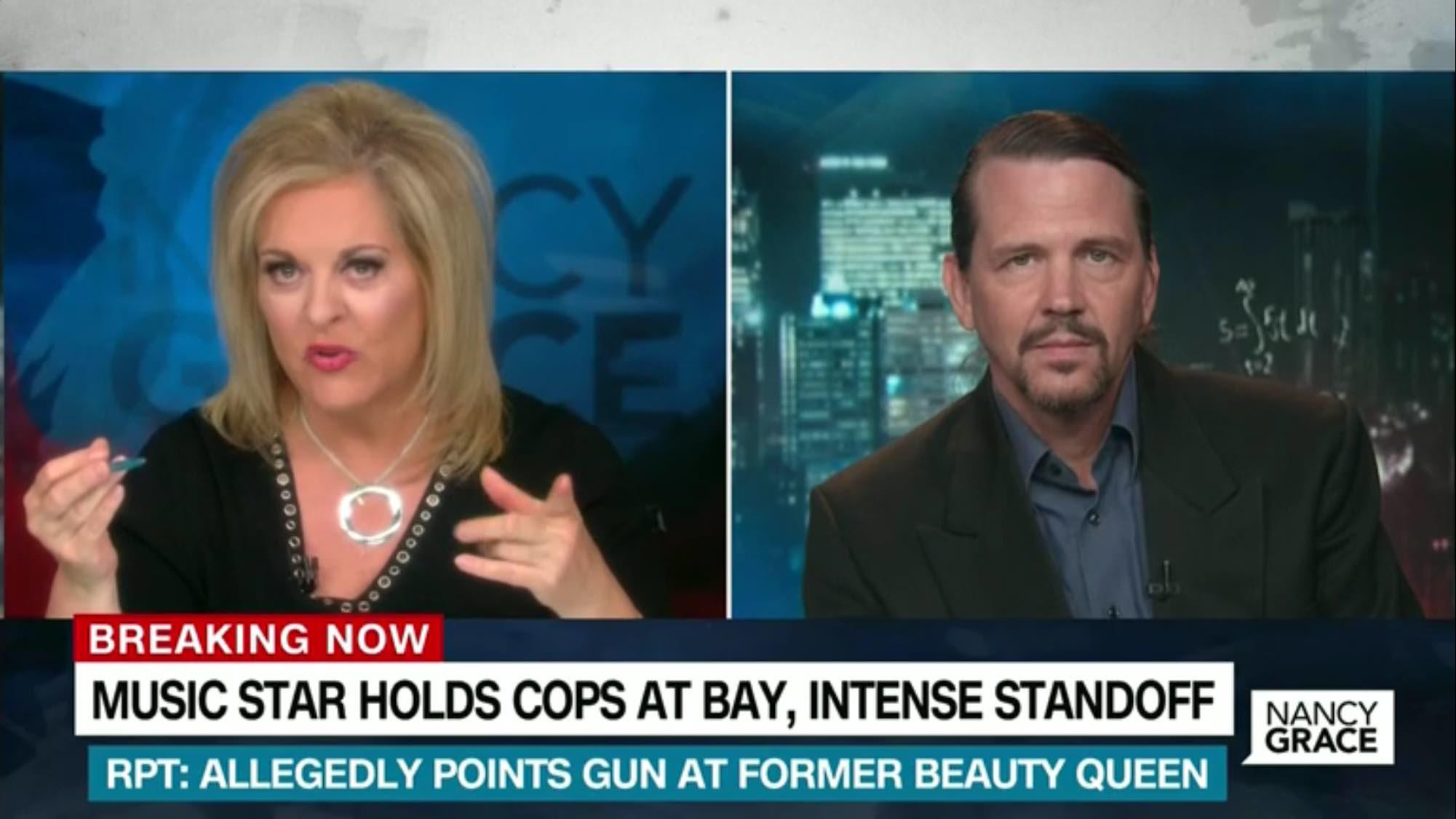 Lead Stories' Alan Duke Talks Chris Brown With HLN's Nancy Grace