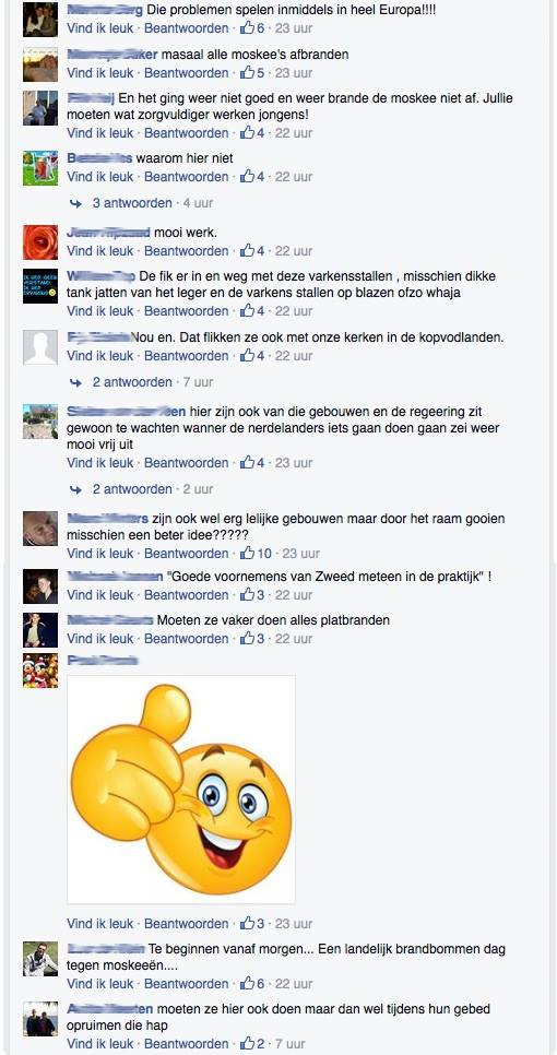 Dutch Facebook Users Fined Up To $500 For Saying Mosques Should Be Burned Down