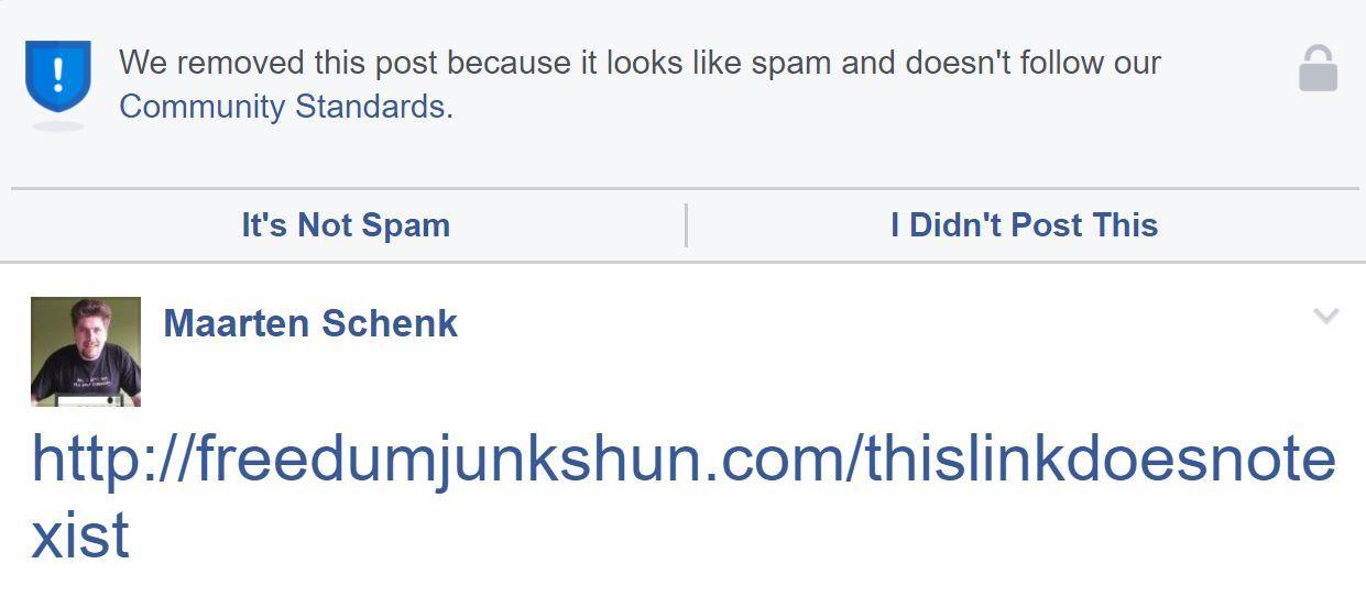 Facebook Blocks Another Chris Blair Satire Site