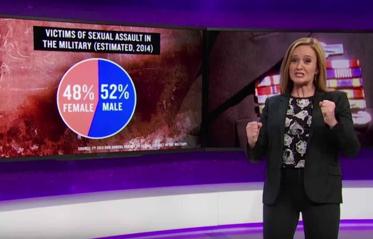 Samantha Bee Targets Senators Stalling Military Sexual Assault Reforms #PassMJIA