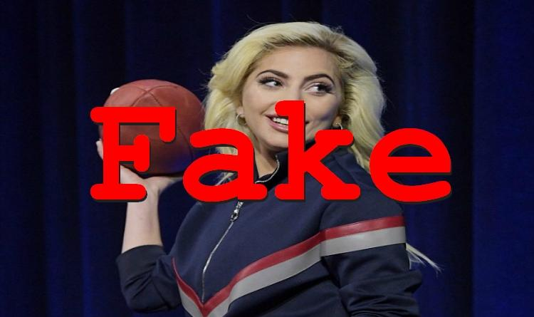 Fake News: Lady Gaga Super Bowl Halftime Performance to Feature Muslim Tribute